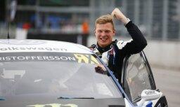 Jaunais 'WorldRX' čempions Kristofersons: par titulu nedomāju līdz pat Latvijas posma finišam