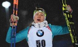 Domračeva uzvar sezonas noslēdzošajās Pasaules kausa sacensībās biatlonā