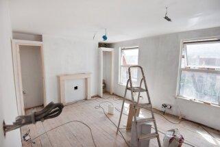 Pārbūve dzīvoklī: kas jāzina pirms remonta uzsākšanas