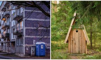 Mazmājiņu meklējumi pilsētā un dabā. Kur pačurāt pastaigas laikā