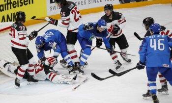 Pasaules hokeja čempionāts: 30. maija pēcpusdienas spēles.