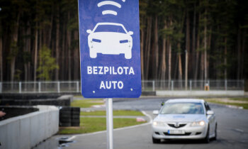 На улицах рижской Тейки создаются трассы для испытаний автомобилей-беспилотников