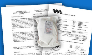 Respiratoru deficīts: 'Laumas' vestos izbrāķē NVD, valdība lemj no 'TITLED' pieņemt 'vienkāršoti'