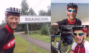 Ārsti teica, ka viņš nestaigās: līgatnietis Ilmārs 11 dienās apminas apkārt Latvijai