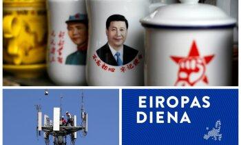 'Eiropas diena': Vācijas lobijs draudzībai ar Ķīnu un 5G potenciālā atkarība