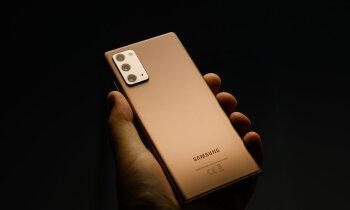 Lielāki un dārgāki – 'Samsung' laiž klajā rudens flagmaņus 'Note 20'