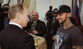 Putina atbalstītājs Timati: 'Black Star' zīmols un lojalitātes apliecinājumi Kremlim