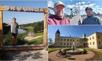 38 дней и все 78 городов Латвии: велосипедное приключение Бригиты и Андриса