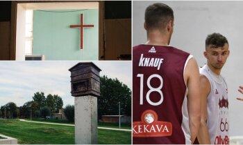 'Delfi plus': basketbola izlase gatavojas, piemineklis Beļģijā un paverdzinātāju skandāls