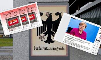 Vācietis savu viedokli par pandēmijas laika ierobežojumiem uzdod par oficiālu ziņojumu