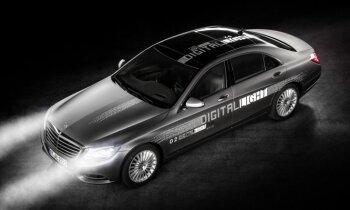 'Mercedes' jaunie lukturi ar diviem miljoniem spoguļu tajos