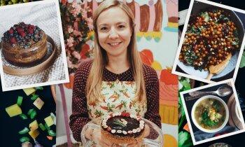 Virtuves sarunas, laužot stereotipus par vegānismu – Laine Rūdolfa