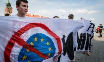 'Delfi' no Strasbūras: Ļaunā savienība ir jāiznīcina – EP radikāļi turpina priecāties par 'Brexit'