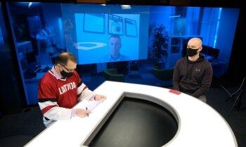 'Spried ar Delfi' par gaidāmo Latvijas hokeja izlases cīņu ar Vāciju. Pilns ieraksts