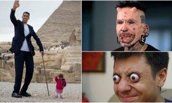 Īpatņi un rekordisti: astoņi dīvaiņi, kuri iemantojuši vispasaules slavu