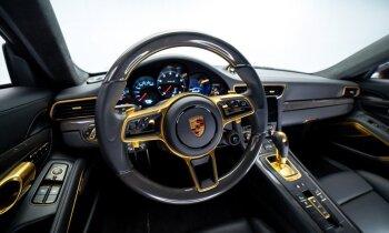 Чистое золото: латвийцы сделали тюнинг Porsche 911 для шведского клиента