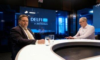 'Delfi TV ar Jāni Domburu' atbild Augstākās tiesas priekšsēdētājs Aigars Strupišs. Pilns ieraksts