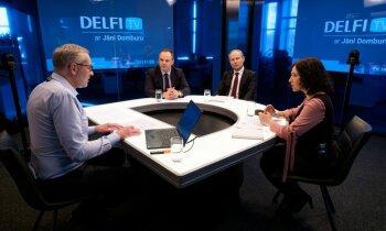 'Delfi TV ar Jāni Domburu' atbild Šuplinska un IZM amatpersonas. Pilns ieraksts