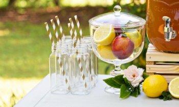 Par skaistiem svētkiem: idejas dārza ballīšu vietas un galdu dekorēšanai