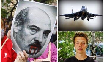 Soli pa solim: Kā Lukašenko režīms ar 'Mig-29' nolaupīja žurnālistu