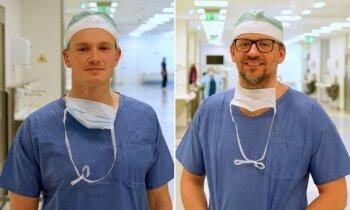 Mikroķirurgi vēža pacientei no rokas audiem izveido jaunu plecu