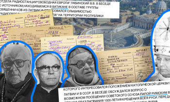 'Maisi vaļā': Kādēļ pāvests Jānis Pāvils II neatbrauca uz PSRS? Čekas aģenti ziņo par Vatikānu