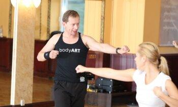 Drīkst durt cauri sienām un skaļi kliegt! 'bodyArt' treniņu raunds – ieraksts Nr.3