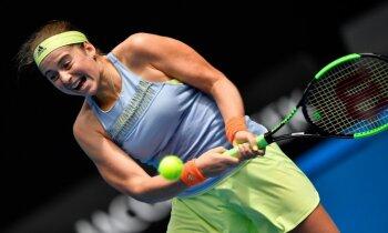 Ostapenko viegli pārvar 'Australian Open' pirmo kārtu