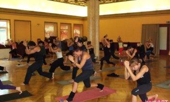 Galvu lejā, asti gaisā! 'bodyART' treniņu raunds - ieraksts Nr.1
