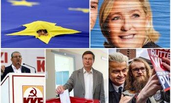 Latviju ES pārstāvēs piecu spēku pārstāvji; Eiropā kopumā liela aktivitāte. Teksta tiešraides arhīvs