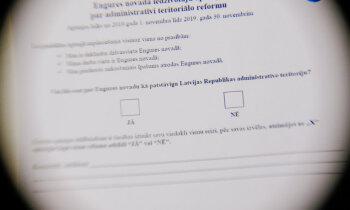 Kā rīdziniekam nobalsot 7 reizes – žurnālista eksperiments novadu reformas aptaujā