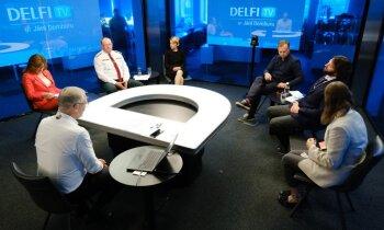 'Delfi TV ar Jāni Domburu' diskusija: 'Kas notiks ar migrantiem Baltkrievijas pierobežā?' Pilns ieraksts