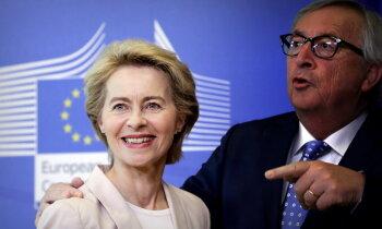 Junkeru EK vadībā nomainīs fon der Leiena, lemj Eiropas Parlaments