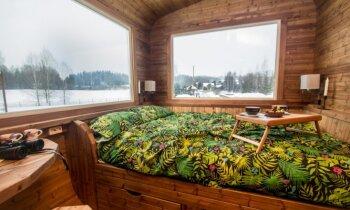 Foto: Unikāls dārza namiņš 14 kvadrātmetru platībā ar visām ērtībām