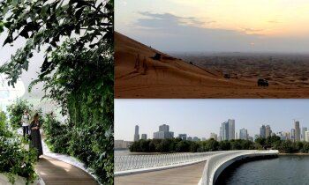 Vietējo greznība pret kluso tuksneša burvību: Apvienoto Arābu Emirātu pērle – Šārdža