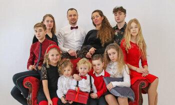 Мать десятерых детей Марина: