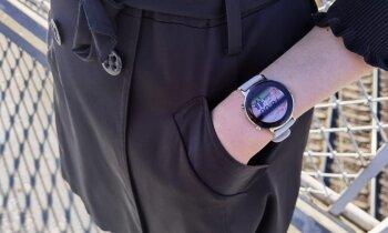 Smalks, bet jaudīgs. 'Huawei Watch GT 2' viedpulkstenis darbībā