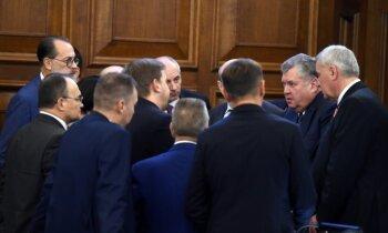 Saeima noraida virkni opozīcijas iesniegto likumprojektu