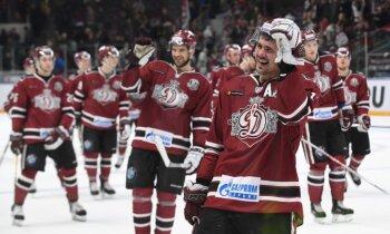 Rīgas 'Dinamo' izcīna pirmo 'mājas' uzvaru šosezon