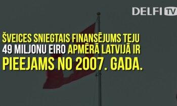 'Delfi' skaidro: Kā Latvija iztērējusi Šveices dāvinātos miljonus?