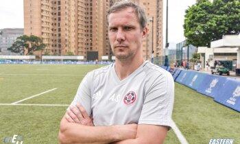 Andrejs Štolcers uzsācis trenēt ambiciozu klubu eksotiskajā Honkongā