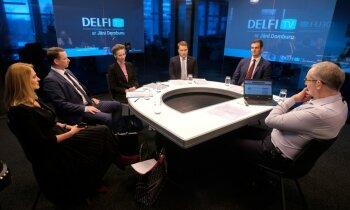 'Delfi TV ar Jāni Domburu' diskusija: 'Kas notiek ar Kristīnes Misānes lietu?'. Pilns ieraksts