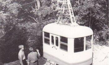 Ceļojums laikā: Siguldas trošu vagoniņš