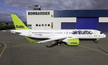 'airBaltic' jaunā 'Bombardier' lidmašīna – aviācijas nākotne, nevis giganta noriets, pārliecināts uzņēmums