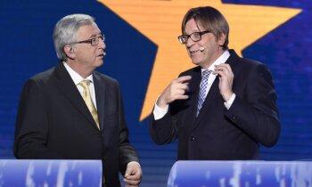 EP par 'Brexit' pārrunu līderi izvēlas bijušo Beļģijas premjeru Verhofštatu