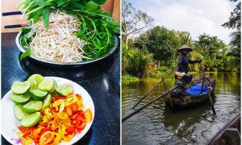 Vjetnamas garšu skavās – stāsts par rolleriem, ēdienu un atkritumiem