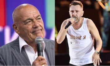 Skandāls Krievijas šovbiznesā: saecējušies divi 'smagsvari'
