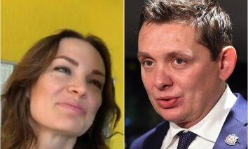 Депутат Кайминьш вышел в свет с новой спутницей