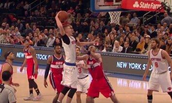 Video: Porziņģim dienas otrā skaistākā epizode NBA