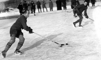 Latvijas sporta vēsture: Hokeja veterānam Elmāram Baurim – 100